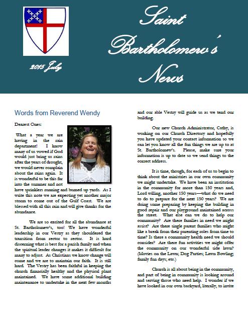 2015-07-Newsletter