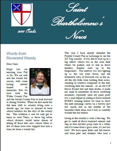 2015-10-Newsletter